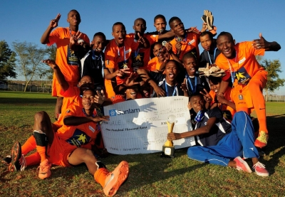 Rietvale High School takes home R100 000 as Northern Cpe Sanlam Kay Motsepe School Cup - for the third time consecutive year.