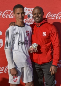 SIMBA MARUMO CALLED UP TO PLAY HIS PART IN THE COPA COCA-COLA U15 FOOTBALL TOURNAMENT