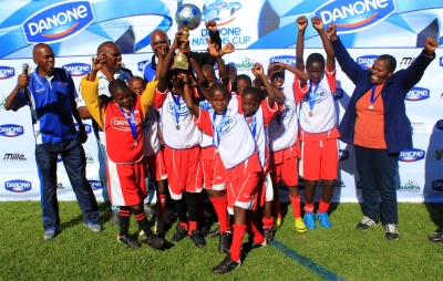 Free State schools gets through to the Danone Nations Cup national final, and meet up with ex professionals