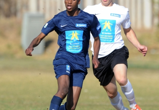 Gauteng school gets ready to compete in the 2015 Kay Motsepe Schools Cup