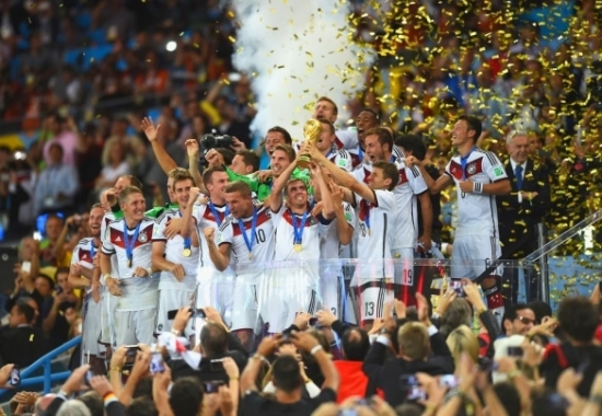 Germany are the World Champions!!!