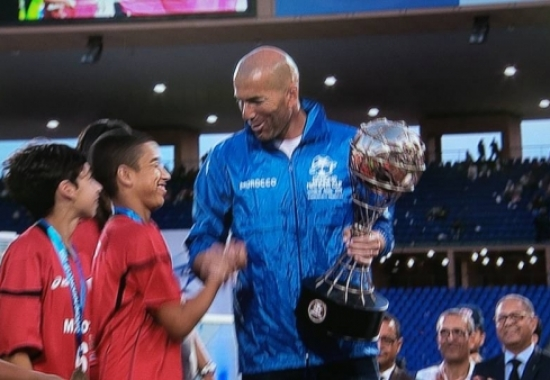 Morocco wins the World Final of the Danone Nations Cup at home, under the eyes of Zinédine Zidane