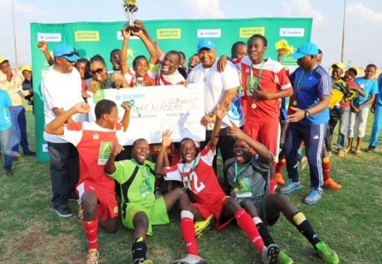 Benny's Sports Development and Academy are five times Kay Motsepe Schools Cup champions.